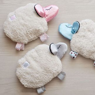 sheep comforters in various colours